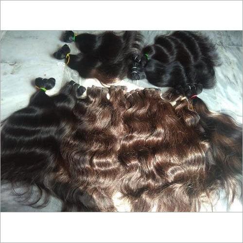 Raw Natural Wavy Human Hair Extensions