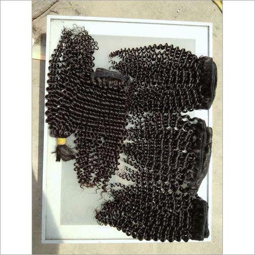 Brazilian Black Curly Human Hair