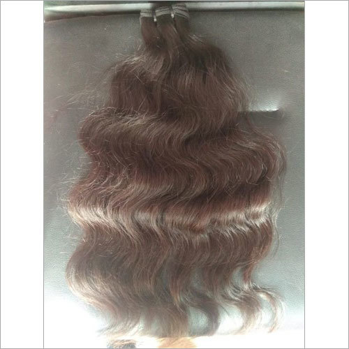 Brown Natural Wavy Human Hair