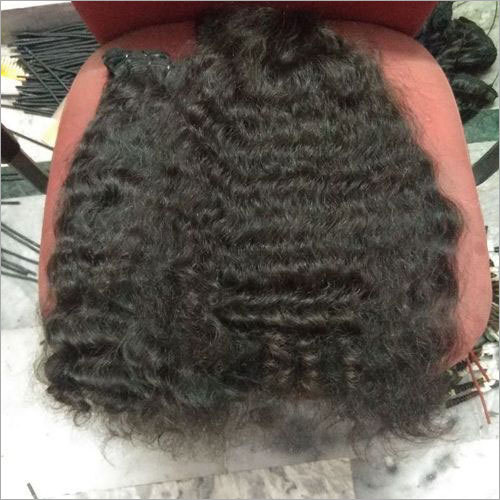 Natural Raw Curly Human Hair Extension