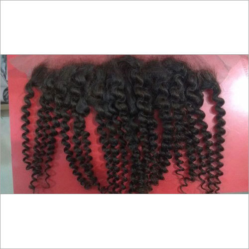 Curly Human Hair Frontal