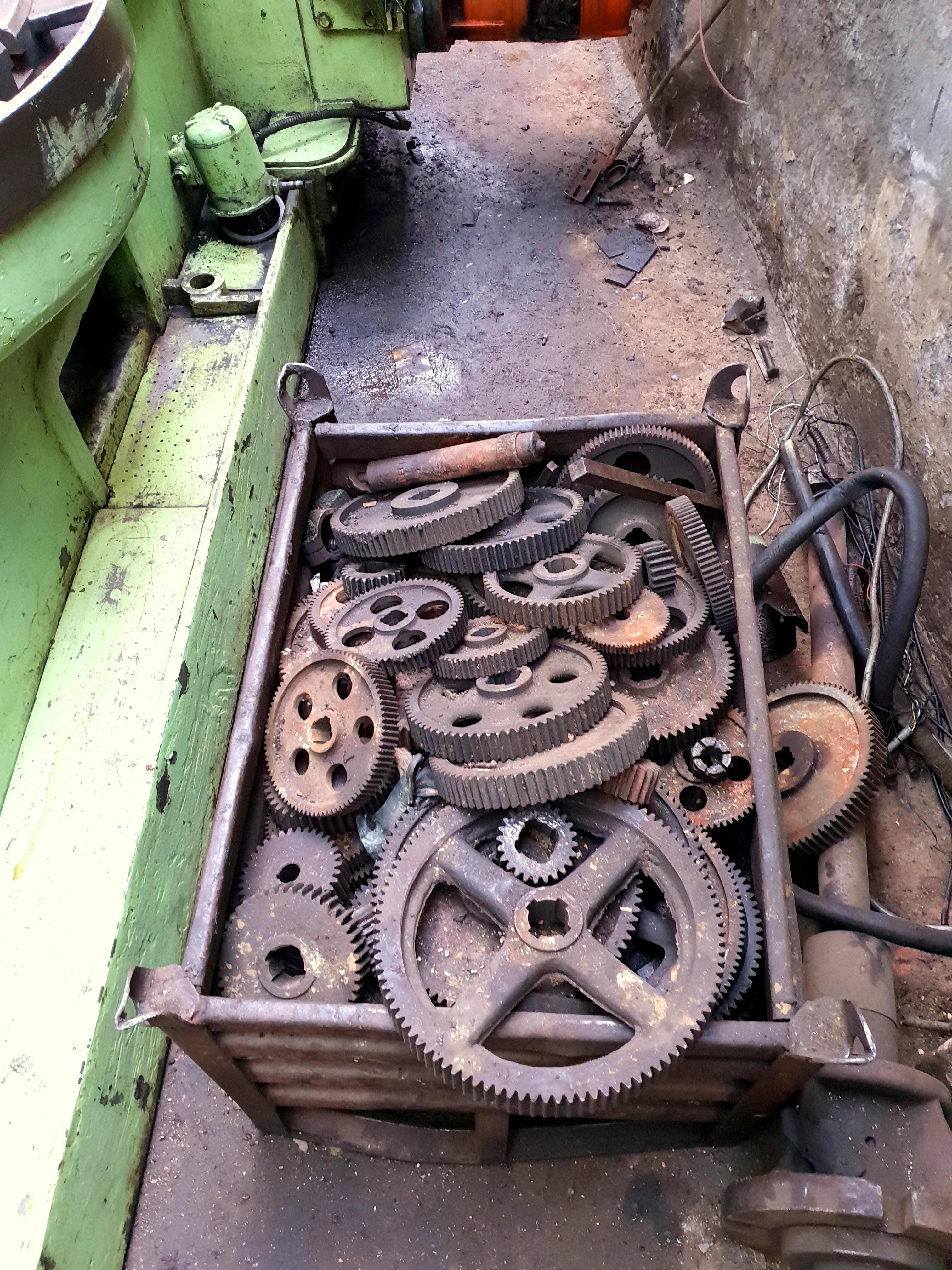 USED GEAR HOBBING MACHINE