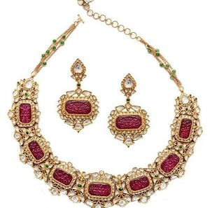 Bridal Gold Necklace