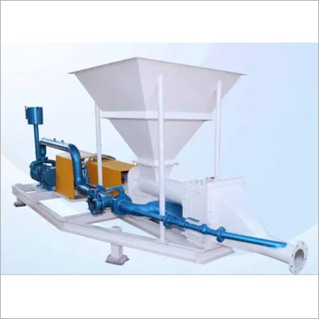 Semi Automatic Fly Ash Feeding Pump