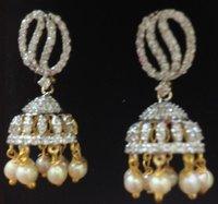 Diamond Jhumkas Earring