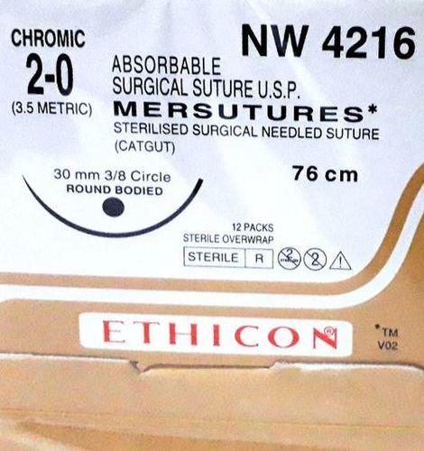 Ethicon Sterilised Surgical Gut Chromic (NW4216)