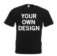 Black Round Neck Custom T-shirt  ---------  Rs 70/ Piece