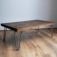 TRADITIONAL RUSTIC COFFEE TABLE