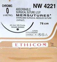 Ethicon Sterilised Surgical Gut Chromic (Nw4221)
