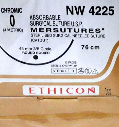 Ethicon Sterilised Surgical Gut Chromic (NW4225)