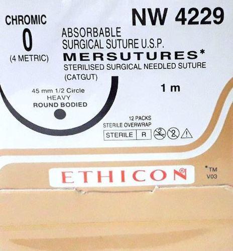 Ethicon Sterilised Surgical Gut Chromic (NW4229)