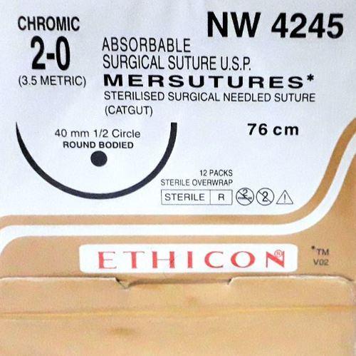 Ethicon Sterilised Surgical Gut Chromic (NW4245)