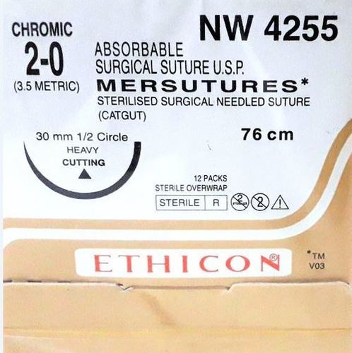 Ethicon Sterilised Surgical Gut Chromic (NW4255)