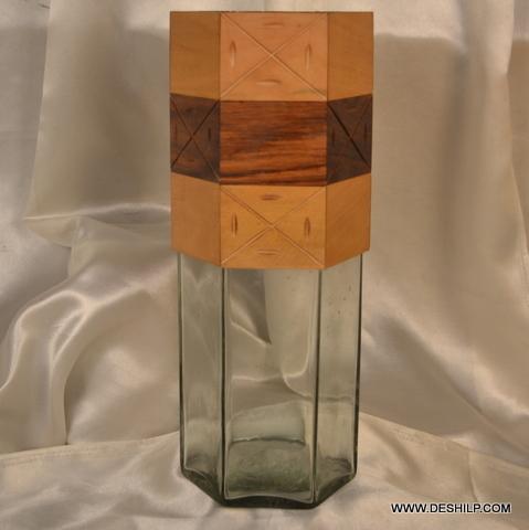 Glass Decorative Flower Vase