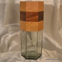 Glass Decorative Flower Vase
