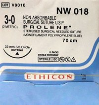 Ethicon Prolene(Polypropylene) Suture (NW018)