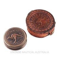 Compass – Australian 1930 Penny