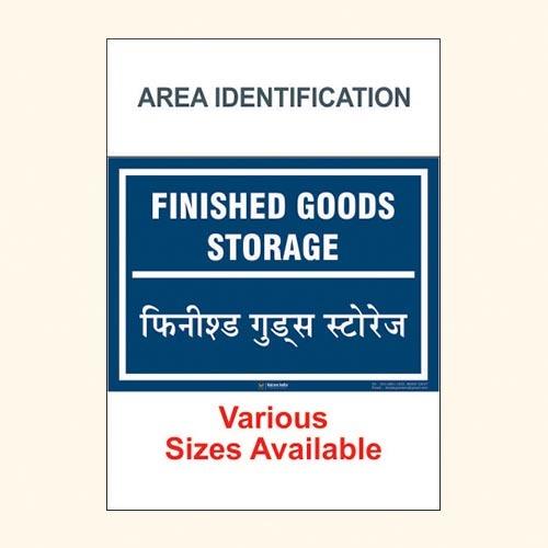 Area Identification Boards 24