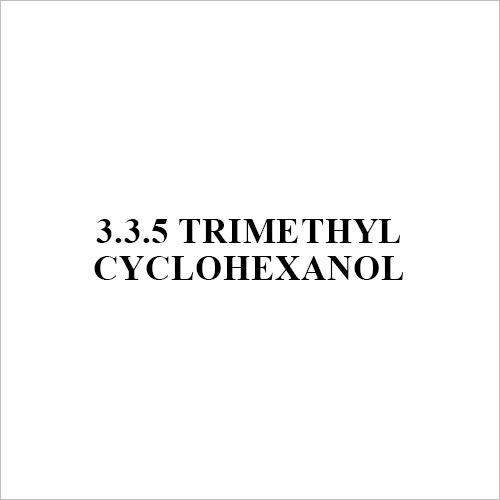 3 3 5 Trimethyl Cyclohexanol