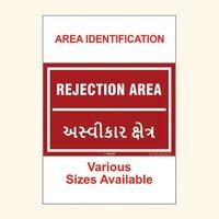 Area Identification Boards 26
