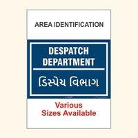 Area Identification Boards 155