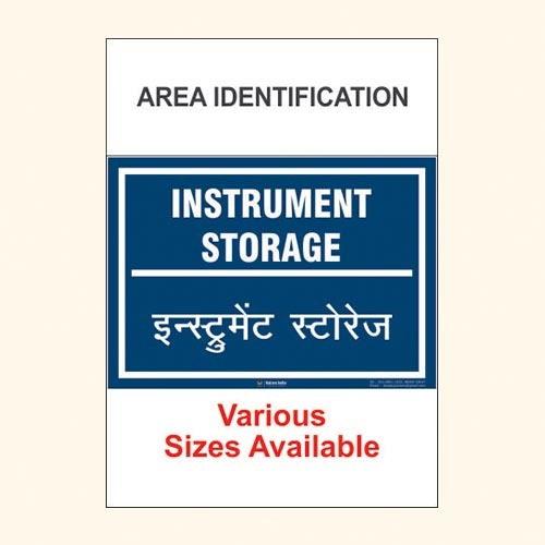 Area Identification Boards 185