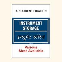 Area Identification Boards 185