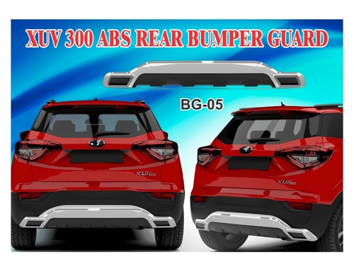 XUV 300 REAR BUMPER GUARD