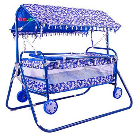 Senior 4 Wheel Hood Blue