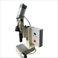 Pneumatic Toggle Press with PLC Control Panel