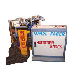 Wax Facer Special Purpose Machine