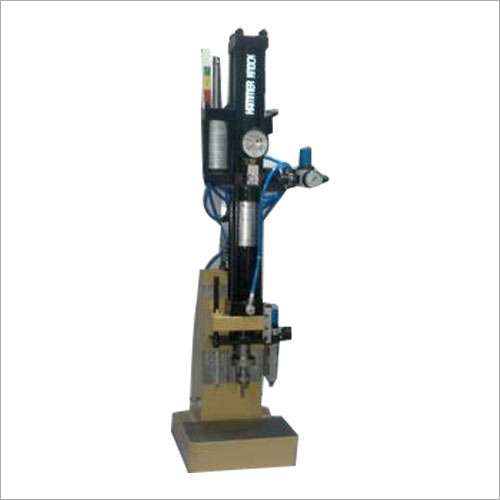 Hydro Pneumatic Press With Load Cell