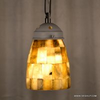 Seap Glass Antique Wall Hanging Lamp