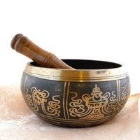 Tibetan Singing Bowl -8 Auspicious Symbols