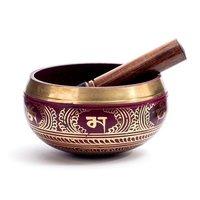 Tibetan Handmade Singing Bowl Red