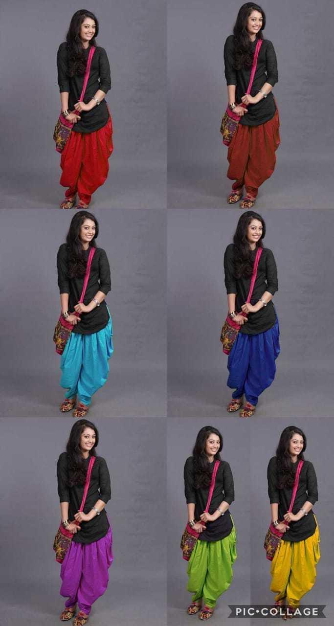 Designer Kurti Dhoti Set, Plain Kurti, Traditional Kurti Set