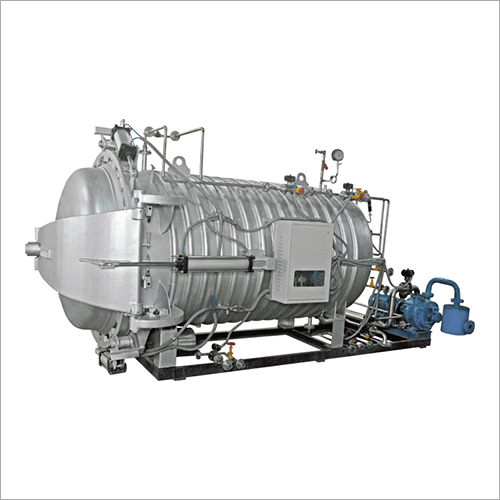 Autoclave heat setting Machine