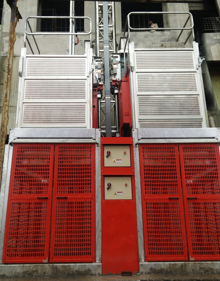 Rack And Pinion Hoist