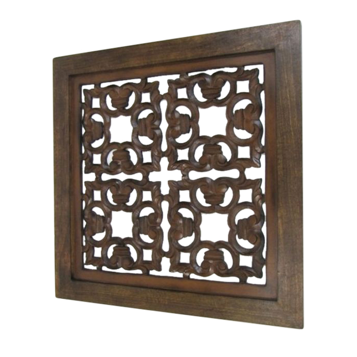 Wooden Panel Wall Hanging Squares