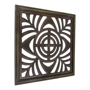 Wooden Panel Wall Hanging