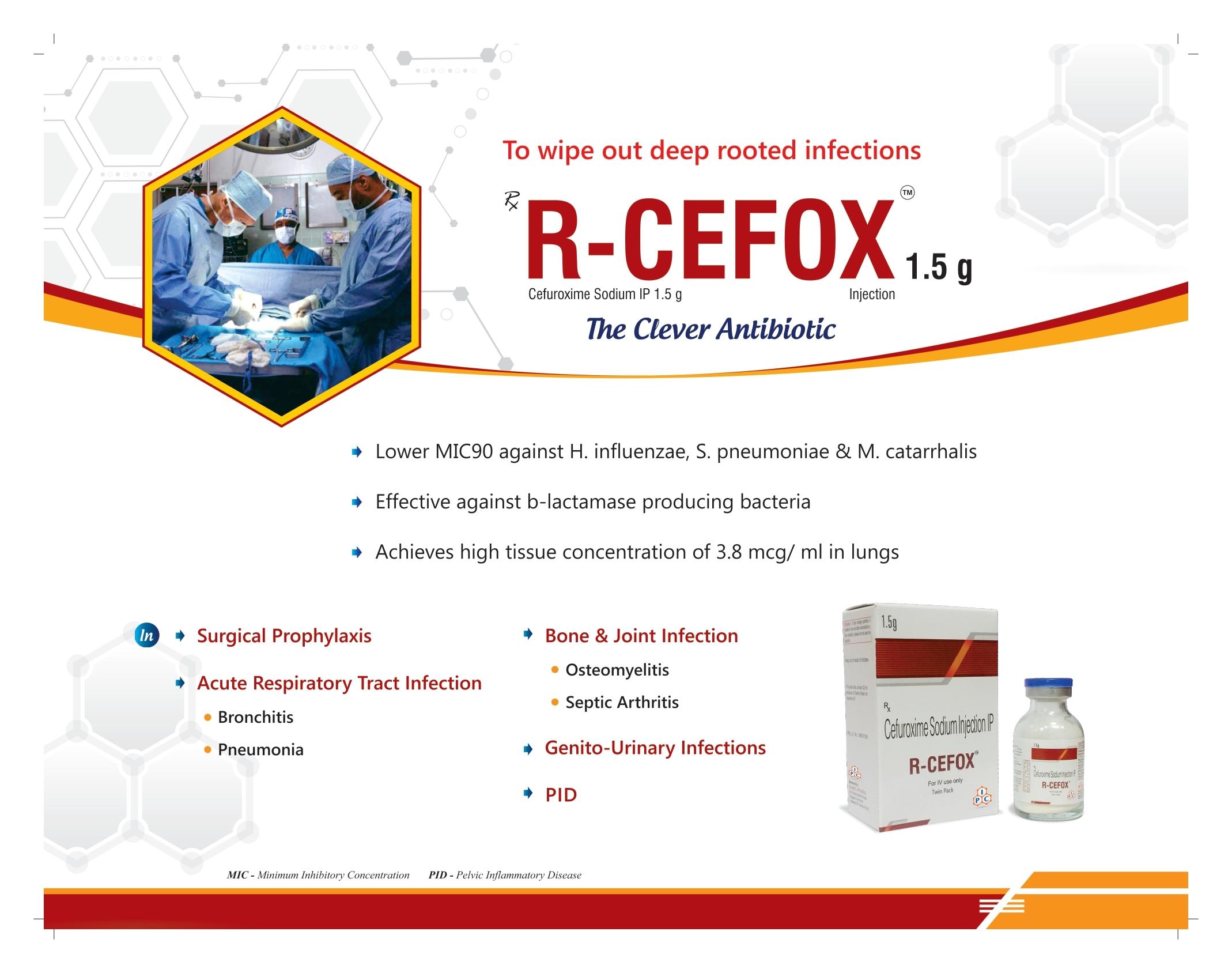 R-Cefox 1.5G Injection