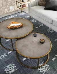 ANTIQUE BRASS CENTRE TABLE