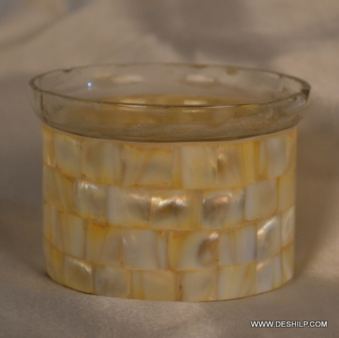 Small Round T Light Candle Holder