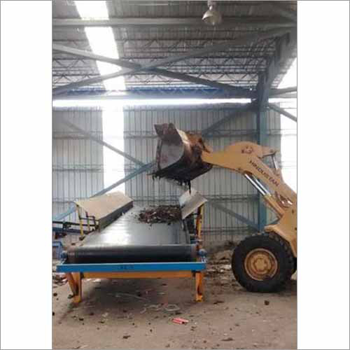 Municipal Solid Waste Automatic Feeder Machine