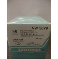 Ethicon - Mersilk ( Black Braided Silk With Needle Suture ) (Nw5079)
