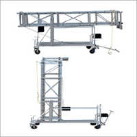 Tiltable Square Type Extendable Tower Ladder