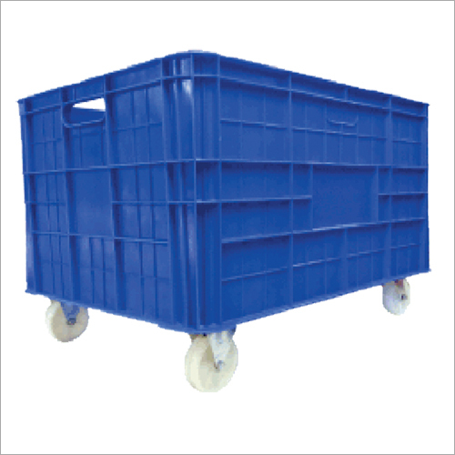 Plastic Dustbin And Crate