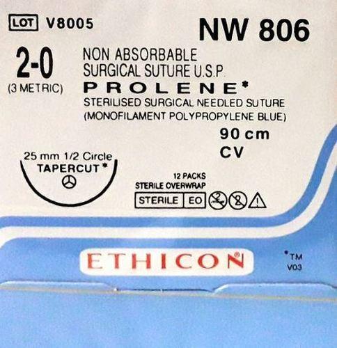 Ethicon - Prolene(Polypropylene) (Nw806)