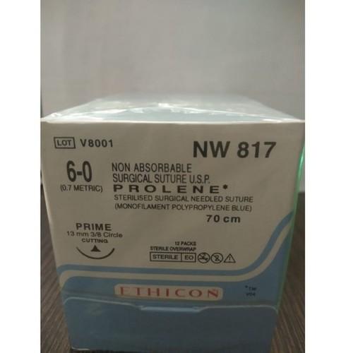 Ethicon - Prolene(Polypropylene) (Nw817)