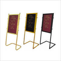 Lobby Stand Display Board